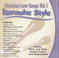 Karaoke Style: Christian Love Songs, Vol. 1