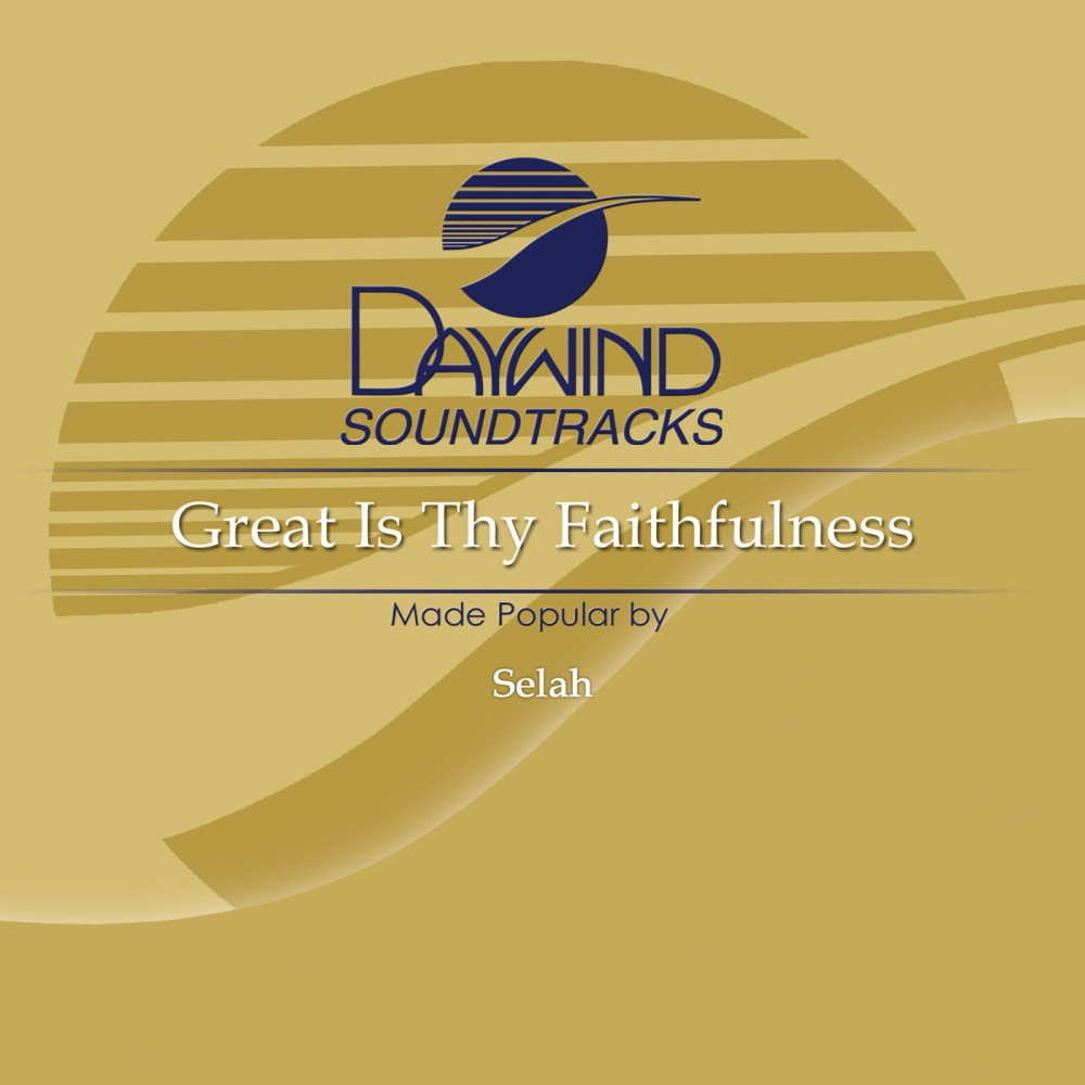 great is thy faithfulness lead sheet pdf