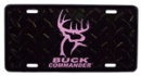 Buck Commander License Plate (Pink)