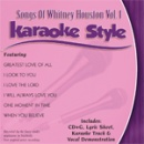 Karaoke Style: Songs of Whitney Houston, Vol. 1 image