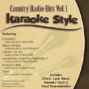 Karaoke Style: Country Radio Hits, Vol. 1