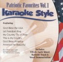 Karaoke Style: Patriotic Favorites, Vol. 1 image