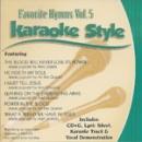 Karaoke Style: Favorite Hymns, Vol. 5 image