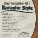 Karaoke Style: Clergy Appreciation, Vol. 1