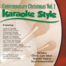 Karaoke Style: Contemporary Christmas, Vol. 1