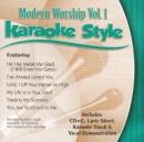 Karaoke Style: Modern Worship, Vol. 1