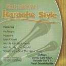 Karaoke Style: Kirk Franklin, Vol. 1