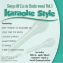 Karaoke Style: Songs of Carrie Underwood, Vol. 1