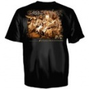 Duck Commander Family With a Calling Shirt: Black | Youth Large