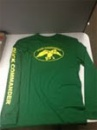 Duck Commander Long Sleeve Shirt: Green/Yellow | Small