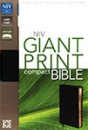 NIV Giant Print Bible: Bonded Leather | Black