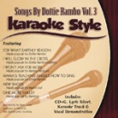 Karaoke Style: Dottie Rambo, Vol. 3