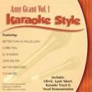 Karaoke Style: Amy Grant, Vol. 1