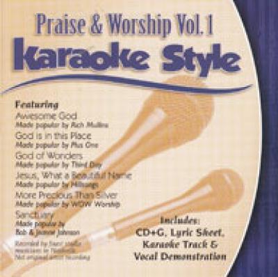 Karaoke Style: Praise and Worship, Vol. 1