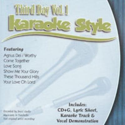 Karaoke Style: Third Day, Vol. 1