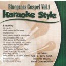 Karaoke Style: Bluegrass Gospel, Vol. 1
