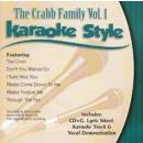 Karaoke Style: Crabb Family, Vol. 1