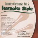 Karaoke Style: Country Christmas, Vol. 2