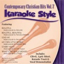 Karaoke Style: Contemporary Christian Hits, Vol. 7
