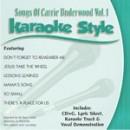 Karaoke Style: Songs of Carrie Underwood, Vol. 1